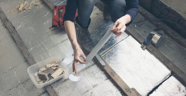 Hoe betonvloer isoleren?