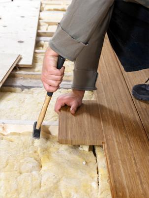 Hoe houten vloer isoleren?
